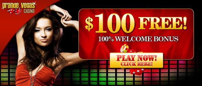 Grande Vegas 100 Welcome Bonus!