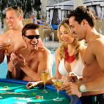 Vegas Casinos offering Swim-Up-Blackjack