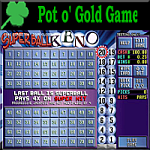 Superball Keno - Pot O' Gold Games