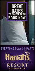 Get a Great Deal on a Room at Harrah's Atlantic City!