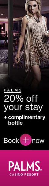 Save 20% at the Palms Casino Resort - Book Now!