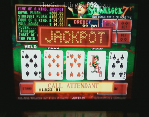 shamrock video poker free online