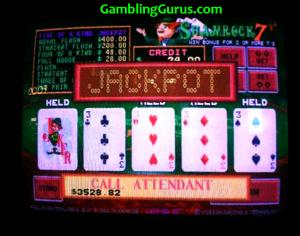Shamrock7's Progressive Jackpot Win $3528