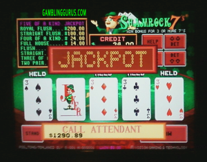 Shamrock7's Progressive Jackpot Win $1290