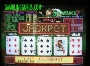 Shamrock7's Progressive Jackpot Win $2105