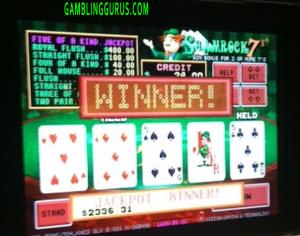 Shamrock7's Progressive Jackpot Win $2336