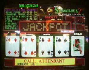 Shamrock7's Progressive Jackpot Win $2623