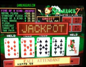 Shamrock7's Progressive Jackpot Win $2779