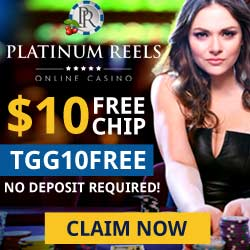 Platinum Reels 10 Free Promotion