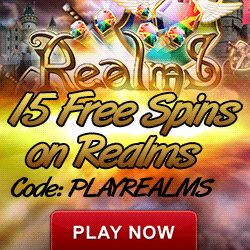 Realms 15 Free Spins No Deposit