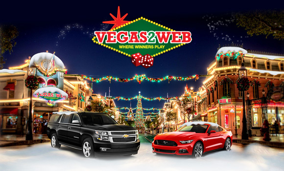 Vegas2Web Christmas Promotion 2015