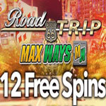 Road Trip 12 Free Spins Promotion!