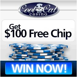 Get $100 Free Chip - No Deposit Needed at Coolcat Casino