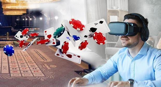VR allows you to feel as though you are in a casino