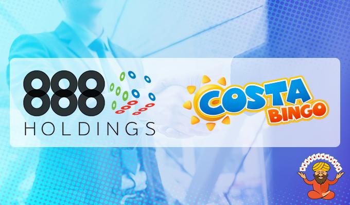 888 Holdings acquires Costa Bingo in £18 million deal